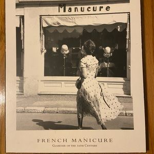 French Manicure Glamour in the 20th Century Art🖼